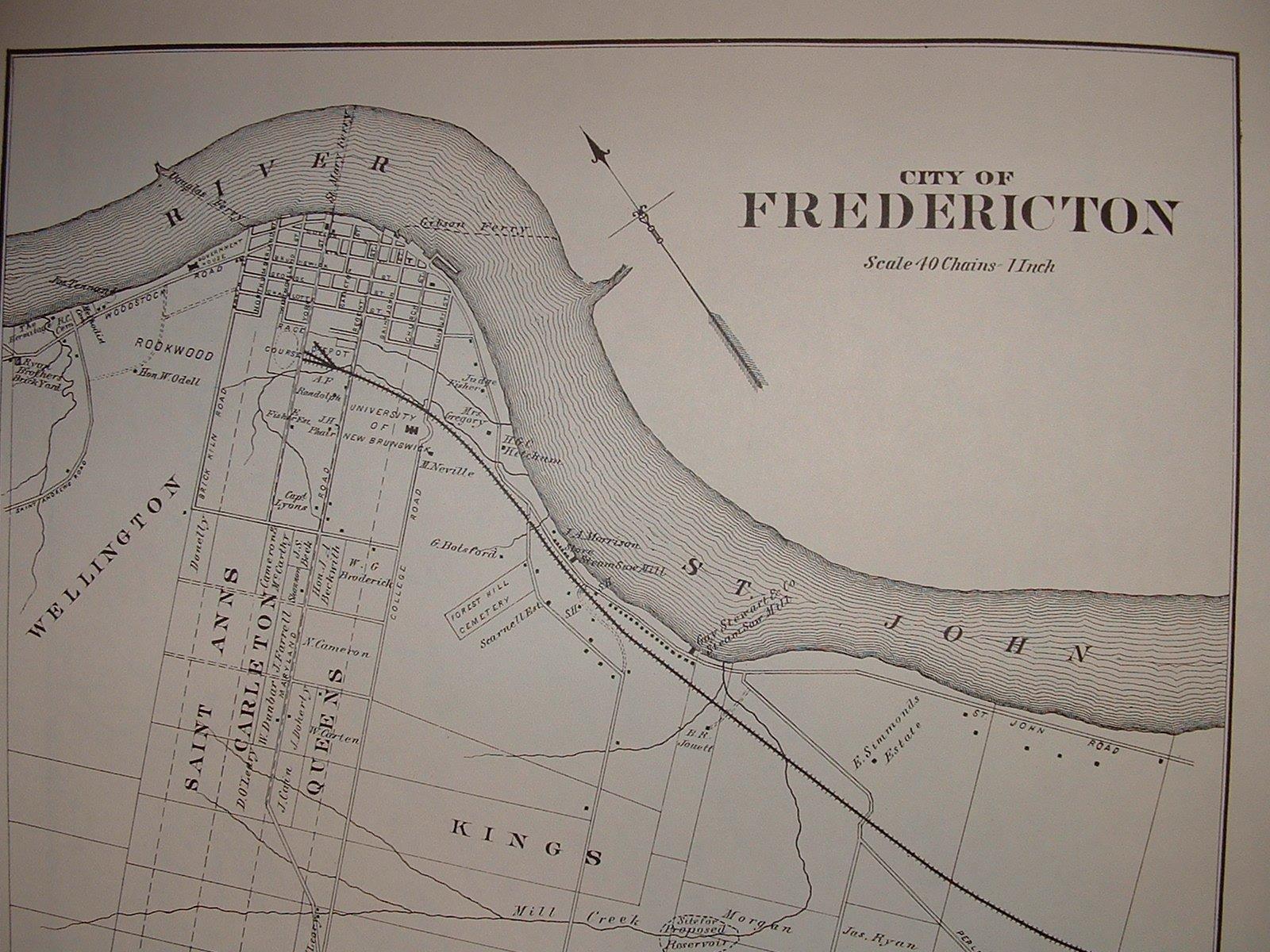 Family Heritage Ca New Brunswick And Nova Scotia Genealogy 1878