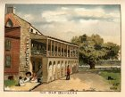 Elisabeth S Tucker 1895 The Old Barracks for J H Ewing Leaves (5K)
