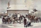 Winter scene in Fredericton, 1833, by W. P. Kay (coloured).jpg