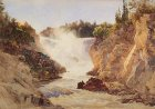 Grand Falls, St. John River, New Brunswick 1890 by Lucius R. OBrien NGC no. 7757.jpg