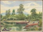 William Hickman ca 1858 Scene on the Restigouche near Henderson Camp wc LAC PW C150567.jpg